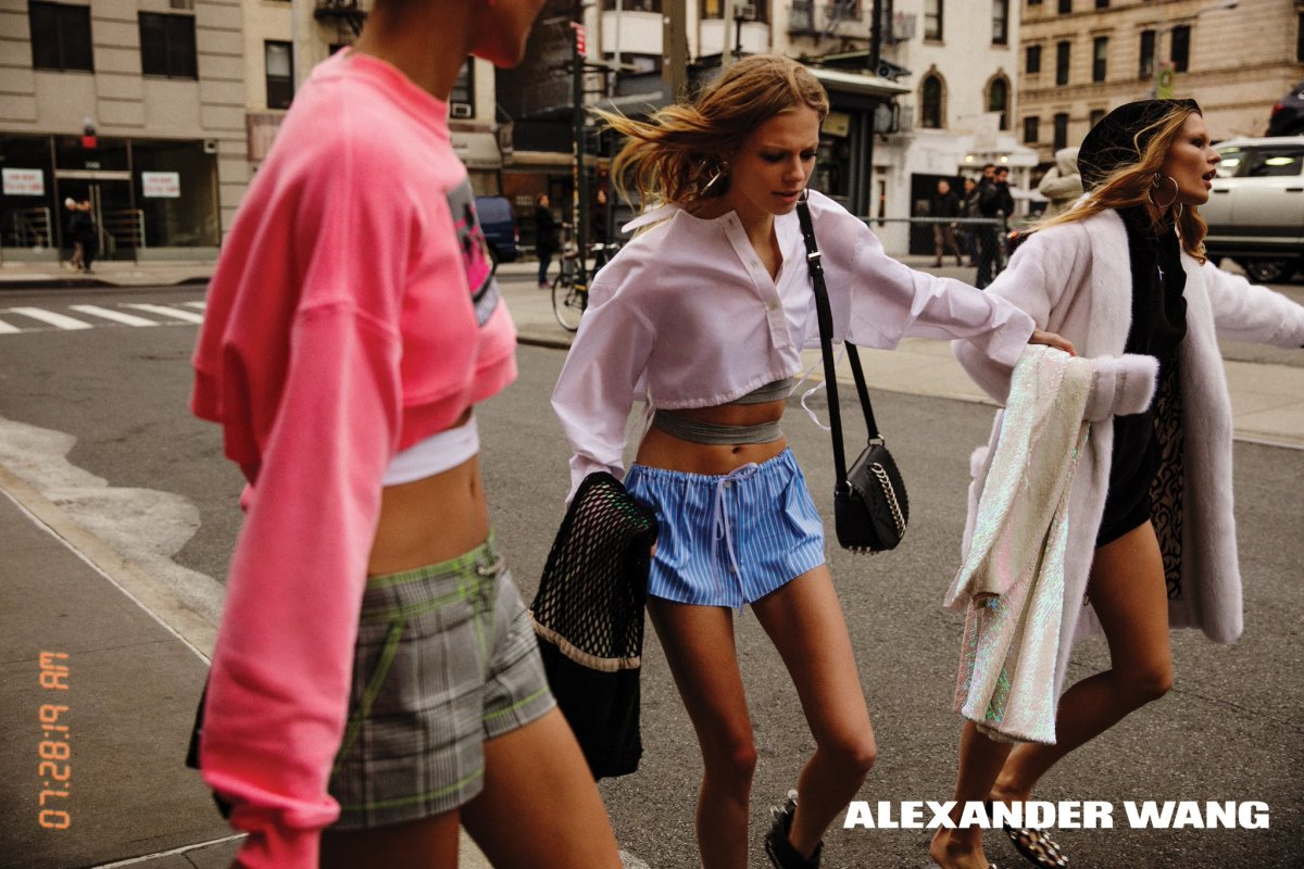 Fashion week Wang alexander threw a frat party for woman