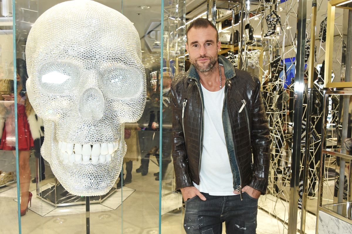 Philipp Plein at the opening of his London boutique. Photo: David M. Benett/Getty Images