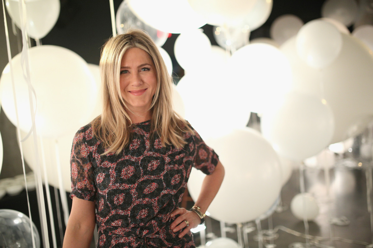 Jennifer Aniston will no longer be involved with hair company Living Proof. Photo: Mike Windle/Getty Images