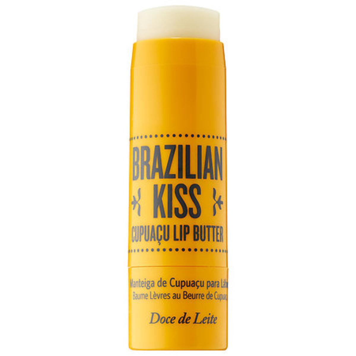 Sol de Janeiro Brazilian Kiss Cupuaçu Lip Butter, $18, available at Sephora. Photo: Courtesy of Sol de Janeiro