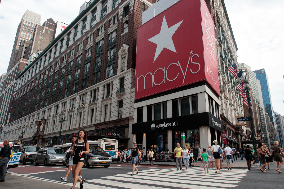 The Macy's flagship store in Herald Square in New York City. Photo: Drew Angerer/Getty Images