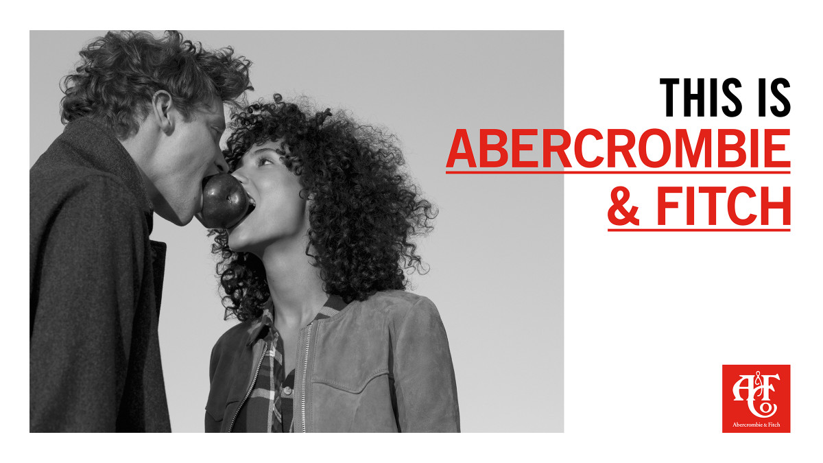 Abercrombie & Fitch holiday campaign. Photo: Abercrombie & Fitch