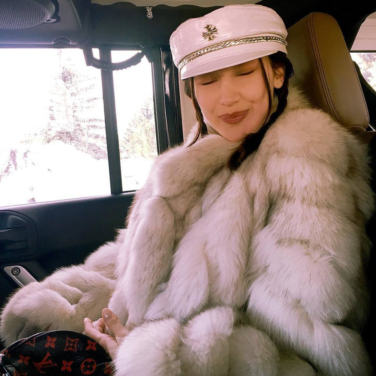 Bella Hadid Provides A Glimpse Of Her Chrome Hearts Collection On