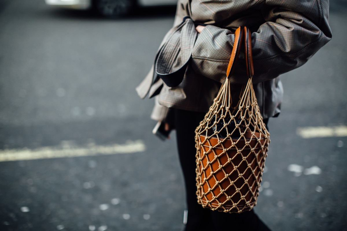 Staud handbag. Photo: Imaxtree