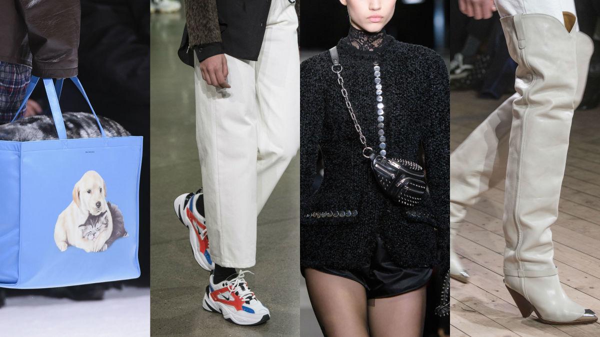Balenciaga, John Elliott, Alexander Wang, Isabel Marant. Photos: Imaxtree