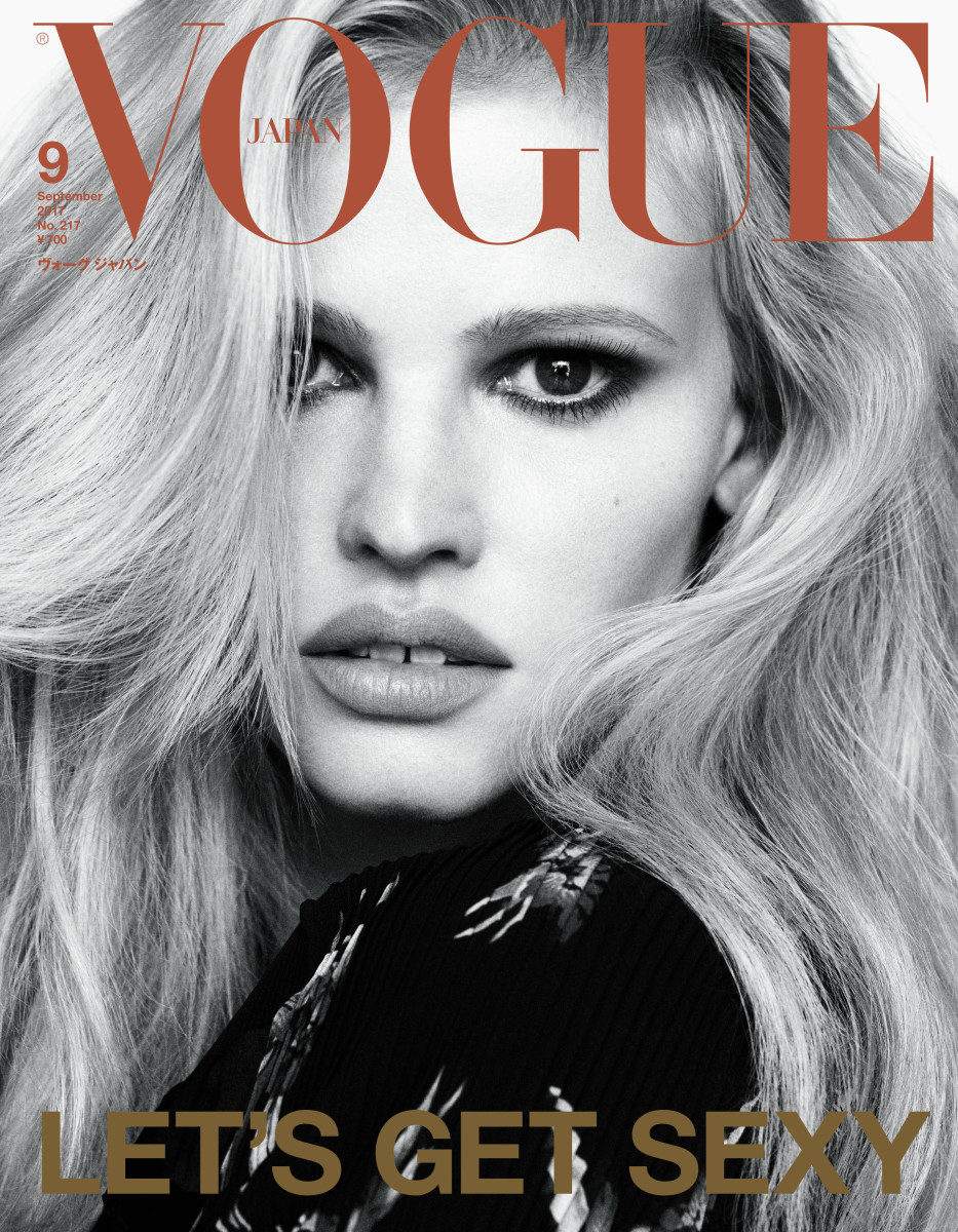 "Lara Stone, one of Chiesi's clients, on the cover of ""Vogue"" Japan. Photo: ""Vogue"" Japan"
