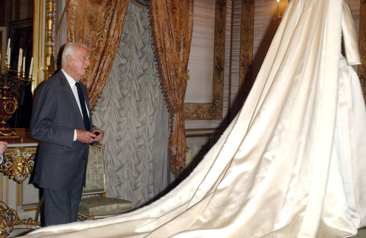 Hubert de Givenchy in 2002. Photo: Lalo Yasky/WireImage