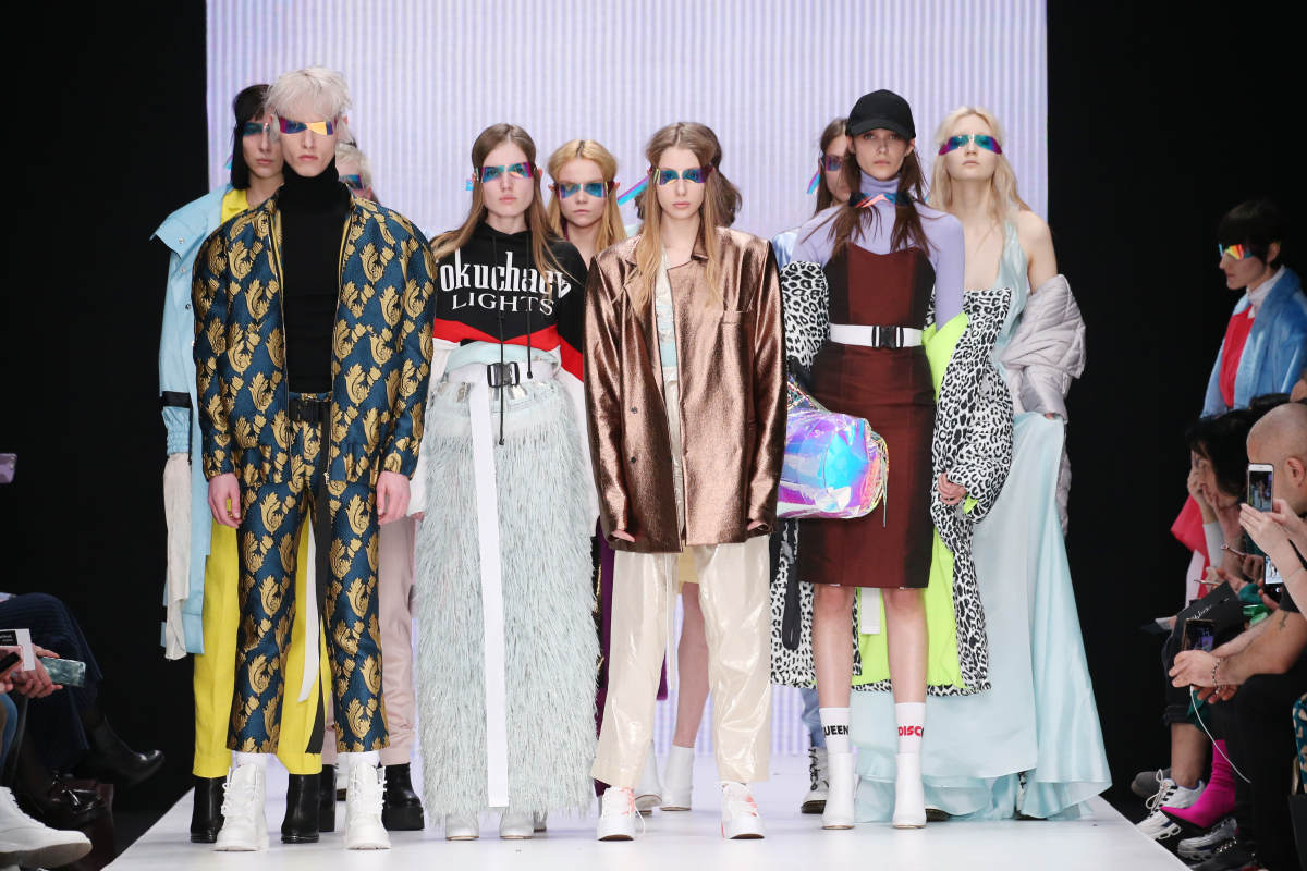 Looks from Anastasia Dokuchaeva's Fall 2018 collection. Photo:Mercedes-Benz Fashion Week Russia