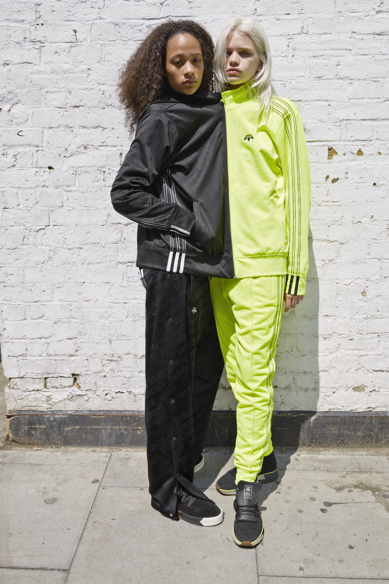 Selena Forrest and Stella Lucia for Adidas Originals by Alexander Wang. Photo: Juergen Teller