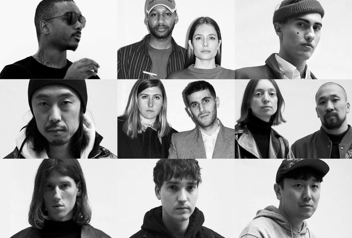 The nine LVMH Prize finalists for 2018. Photo: Courtesy LVMH