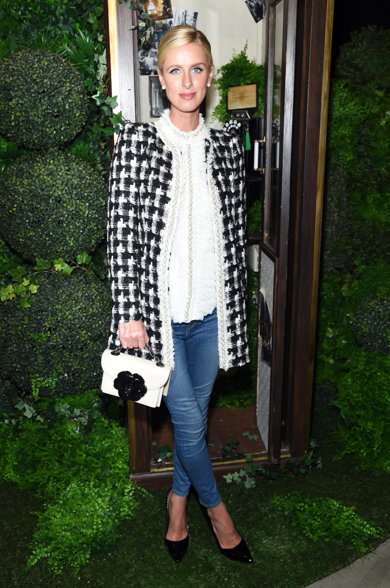 Hilton Rothschild at Alice + Olivia's Spring 2018 presentation during New York Fashion Week Photo: Jamie McCarthy/Getty Images