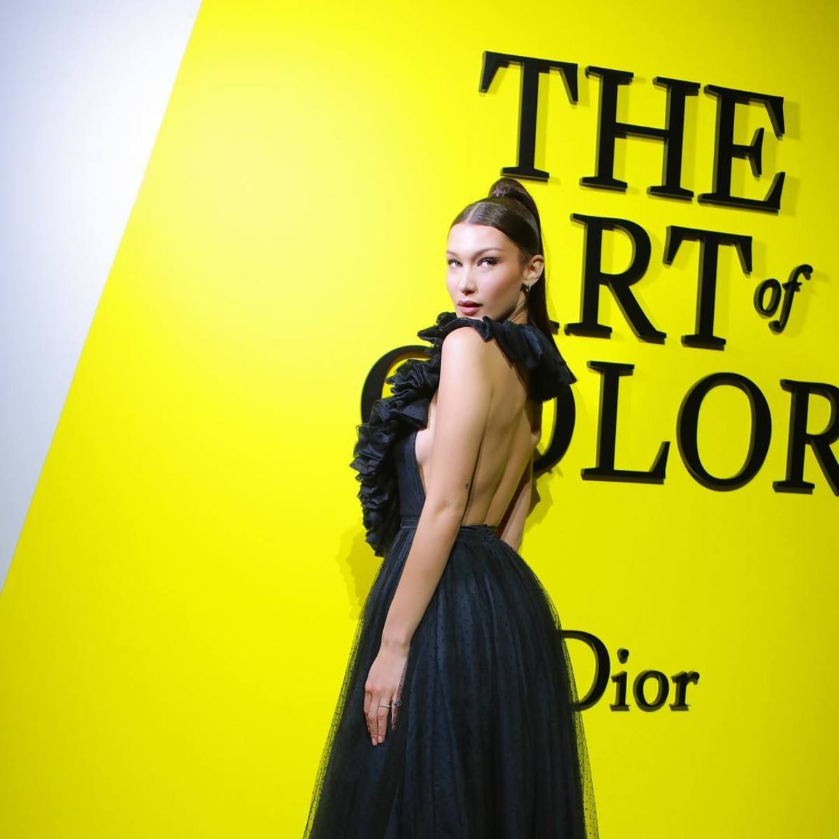 Bella Hadid\'s Backless Dior Gown Will Make You Yearn for Halter Tops ...