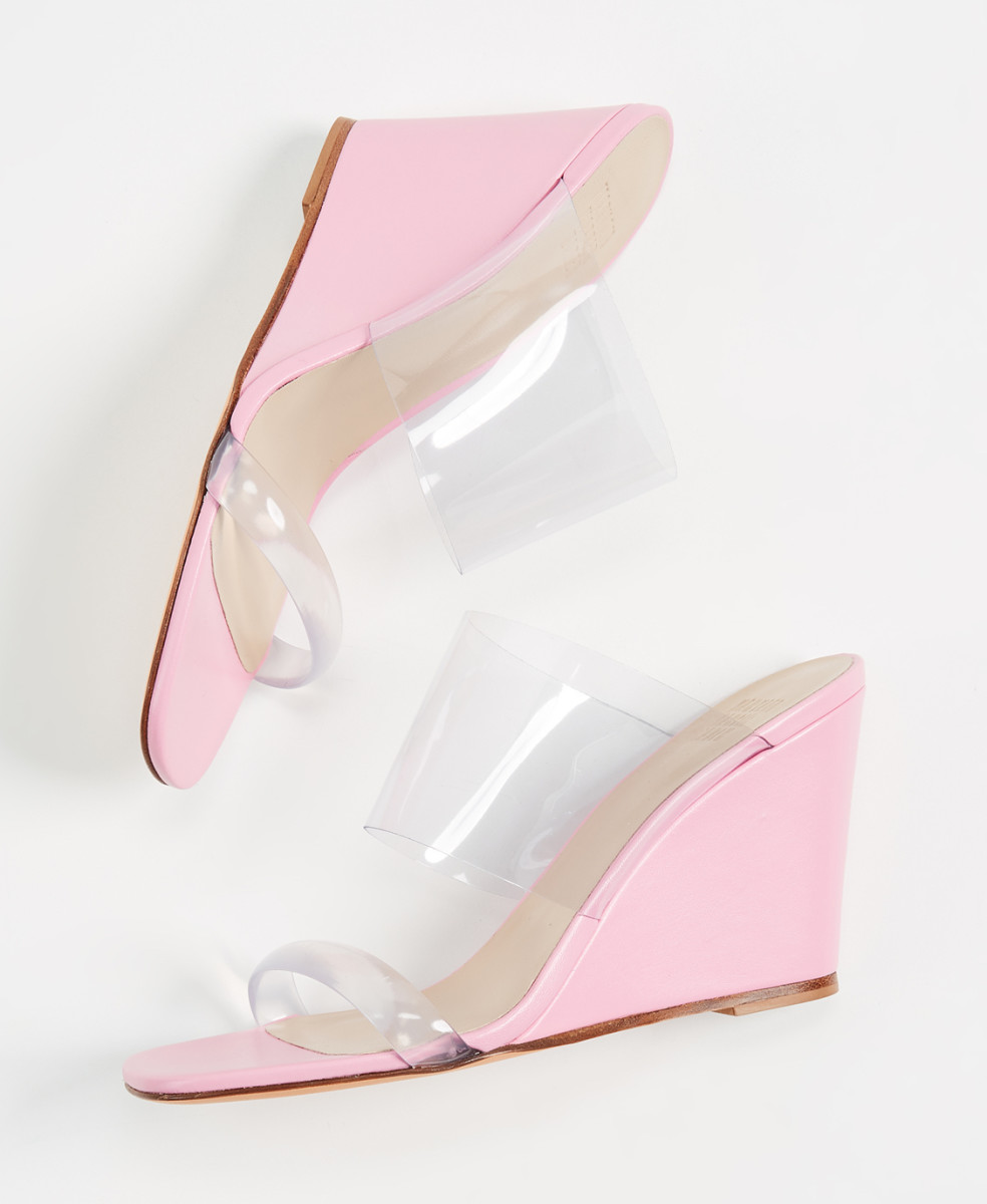 Maryam Nassir Zadeh Olympia wedges, $440, available at Opening Ceremony