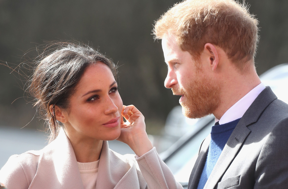 This photo doesn't really have much to do with the outfit, I'm just obsessed with how they look at each other. Photo: Chris Jackson/Getty Images