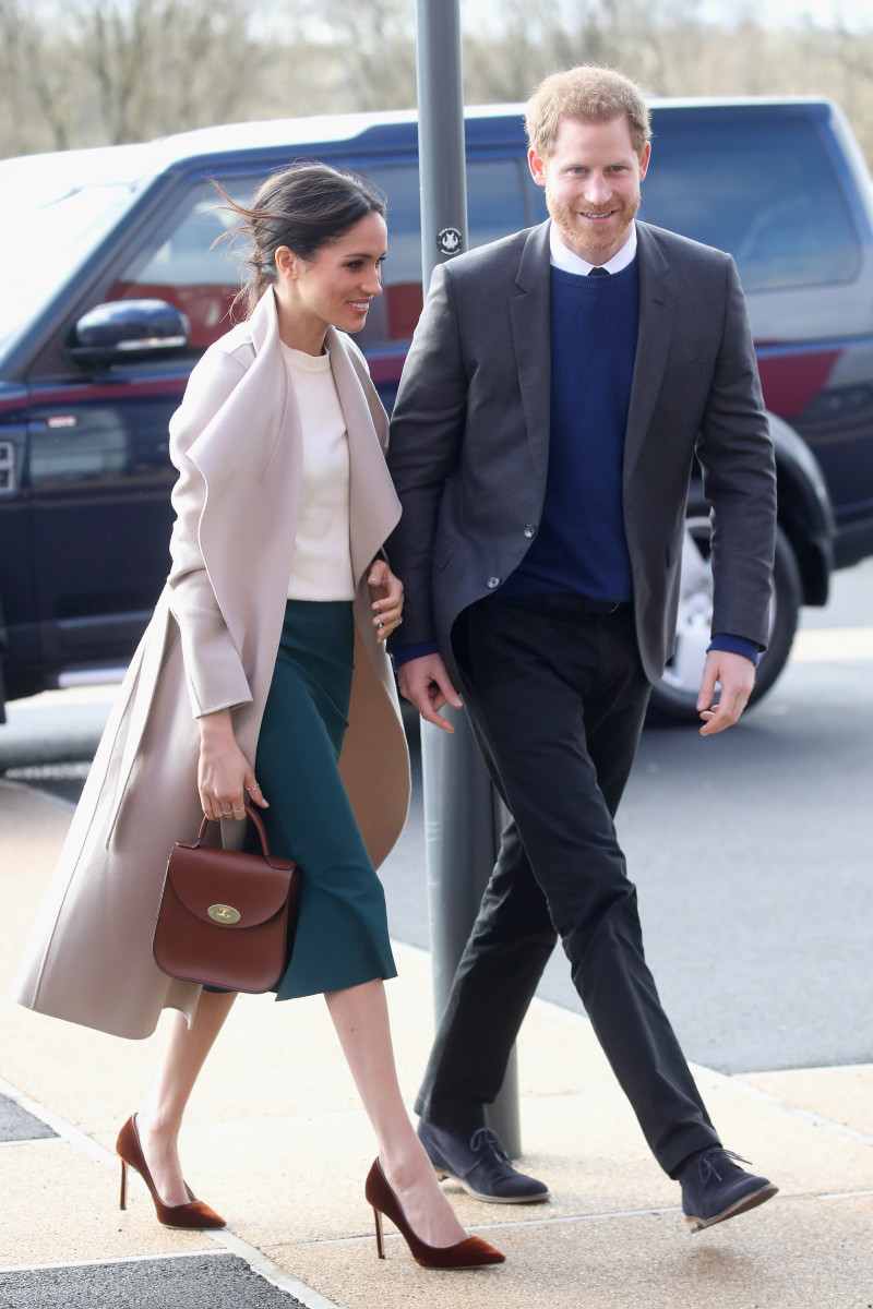 Meghan Markle and Prince Harry on a surprise trip to Ireland. Photo:Chris Jackson/Getty Images