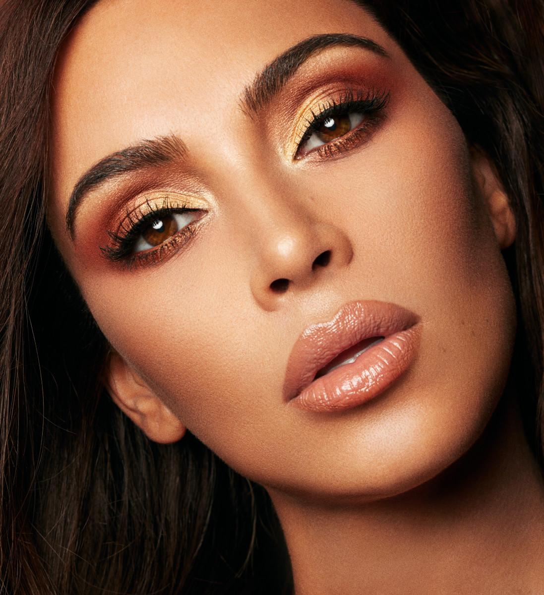 Kim Kardashian for KKW Beauty.Photo: Greg Swales/KKW Beauty