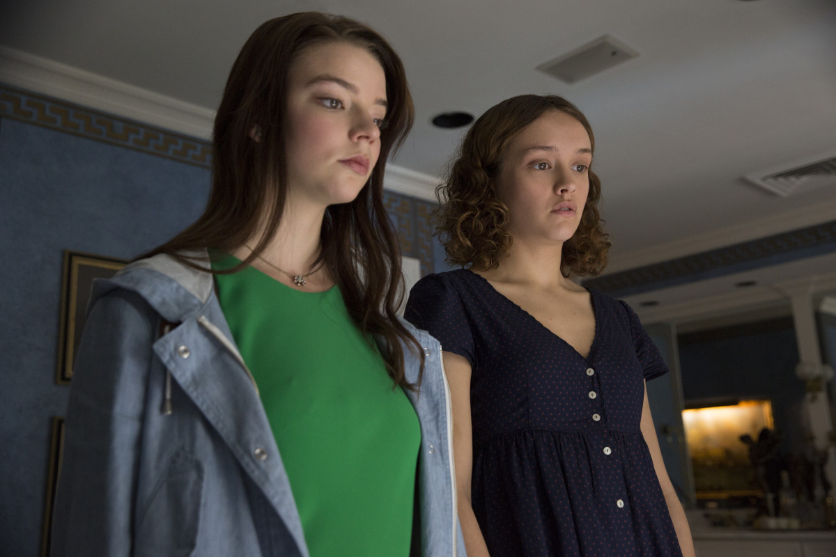 """Anya Taylor-Joy stars as Lily and Olivia Cooke as Amanda and in """"Thoroughbreds."""" Photo: Claire Folger/Focus Features"""
