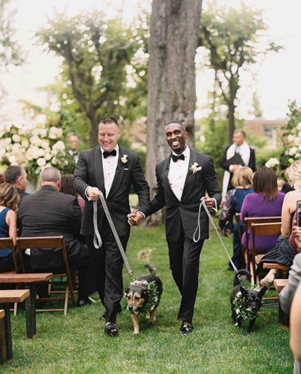My heart is so full! Photo:@martha_weddings/Instagram