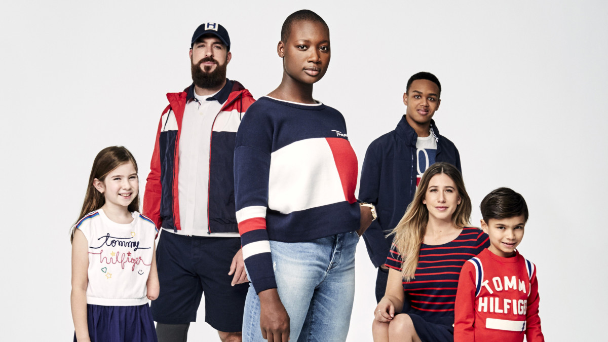 a83cff66 Tommy Hilfiger Launches Spring 2018 Campaign For Its Adaptive Collection -  Fashionista