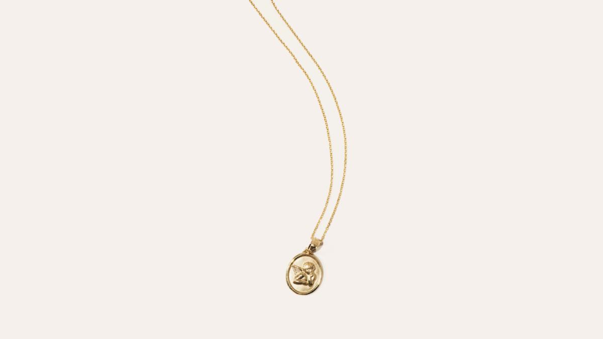 ShopGirlLA x Kinn elusive dream pendant, $200, available at Kinn.