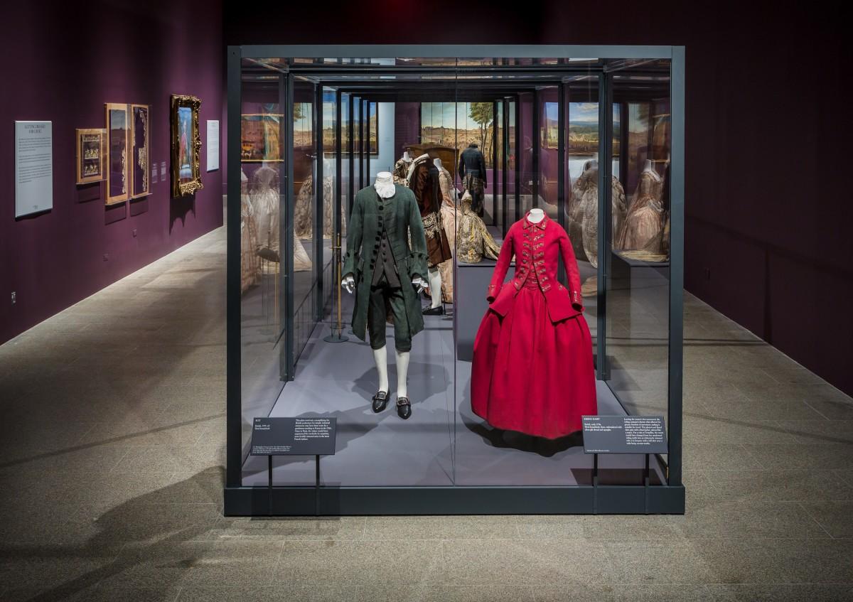 """Visitors to Versailles (1682–1789)"" at The Metropolitan Museum of Art, 2018. Photo: Courtesy of The Metropolitan Museum of Art"