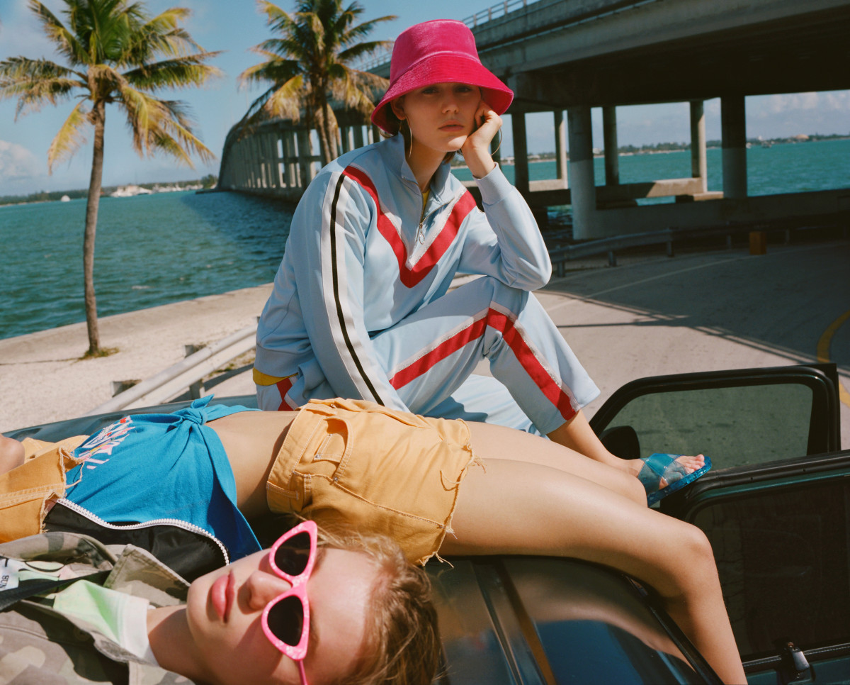 Topshop Spring 2018 campaign. Photo: Topshop/Fashionista Exclusive