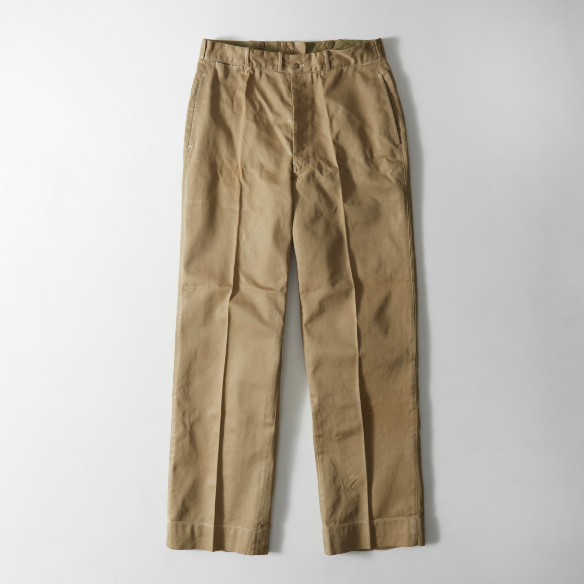 John F. Kennedy's original chino pants. Photo: Abercrombie & Fitch