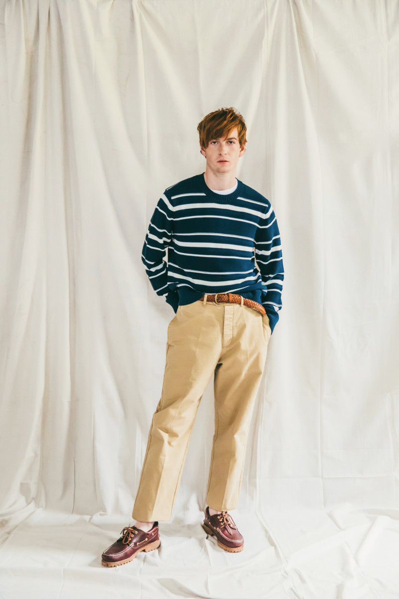 A look from Abercrombie & Fitch's John F. Kennedy-inspired capsule collection. Photo: Abercrombie & Fitch