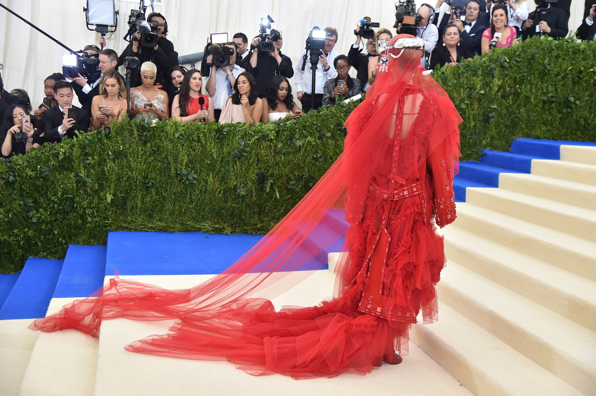 Katy Perry at the 2017 Met Gala. Photo: Theo Wargo/Getty Images For US Weekly