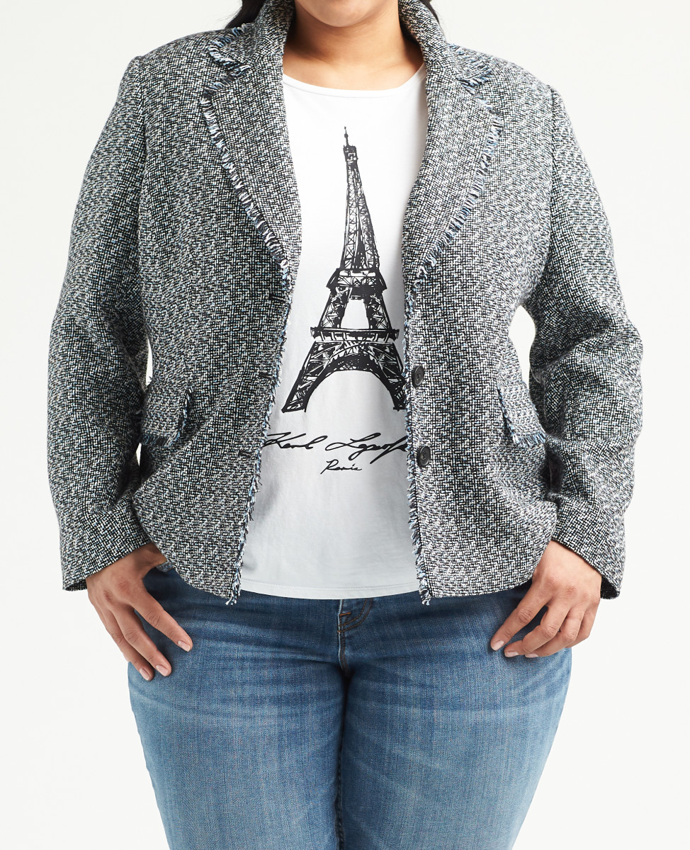 A look from Karl Lagerfeld Paris for Stitch Fix. Photo: Courtesy of Karl Lagerfeld Paris for Stitch Fix