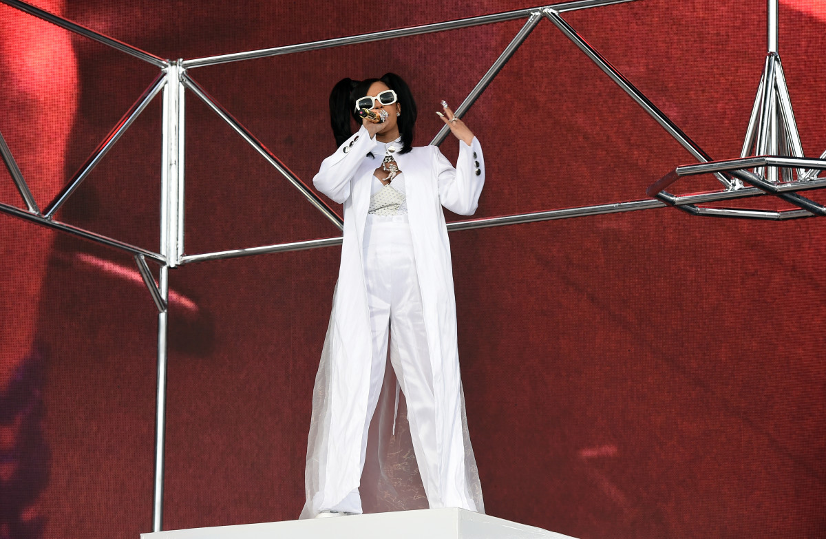 Cardi B performing at Coachella on Sunday. Photo: Kevin Winter/Getty Images for Coachella