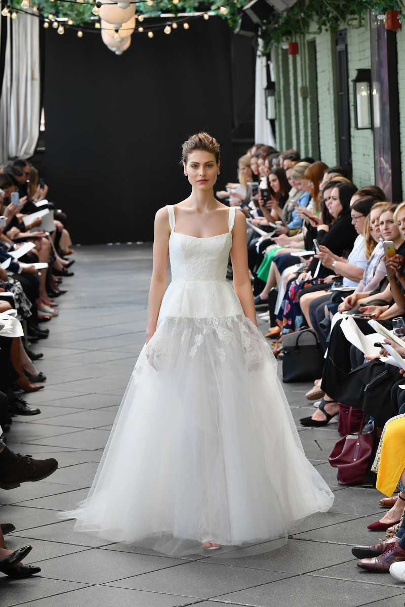 A Look From Am S Spring 2019 Bridal Collection Photo Courtesy