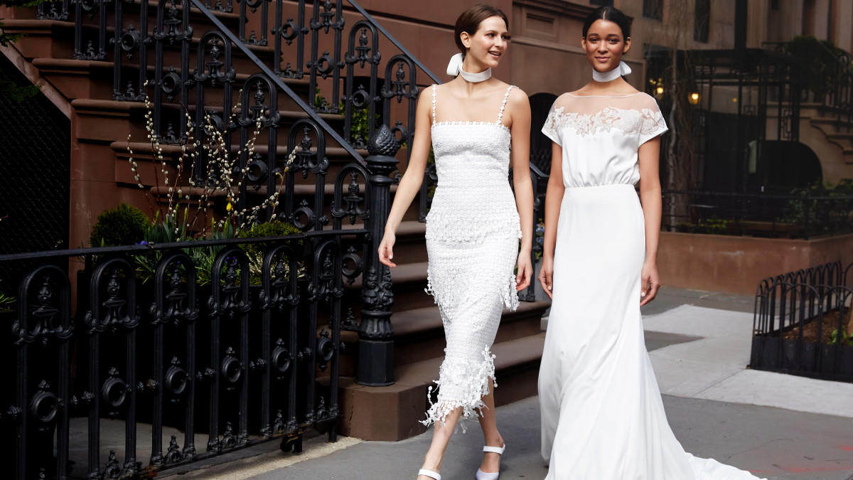 The 11 Best Wedding Looks For Spring 2019 - Fashionista