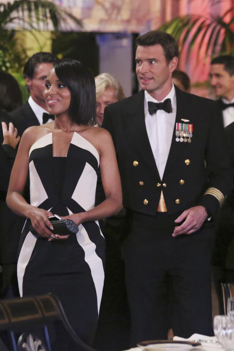 Olivia and Jake Ballard (Scott Foley). Photo: ABC/Richard Cartwright