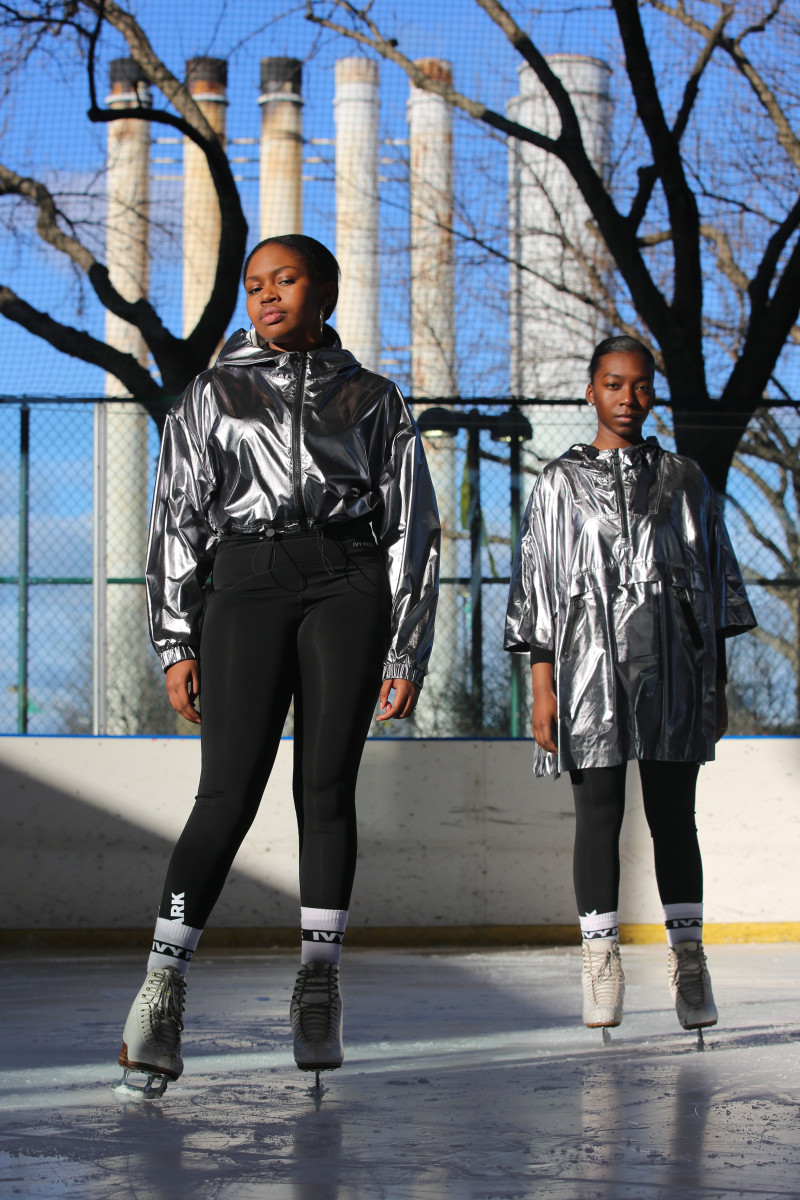 Ivy Park x Figure Skating in Harlem. Photo: Ivy Park