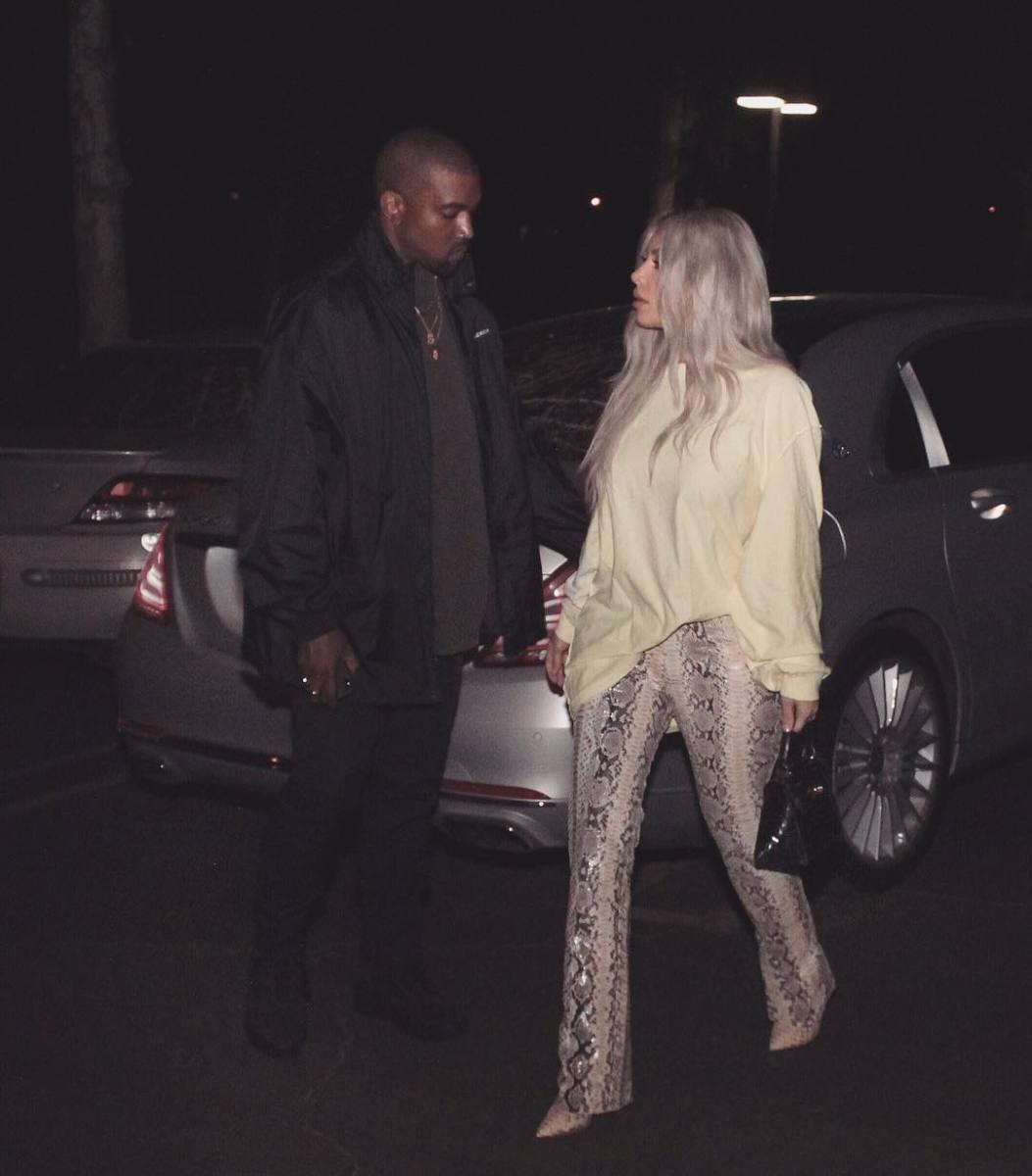Date night lewks. Photo: @kimkardashian/Instagram