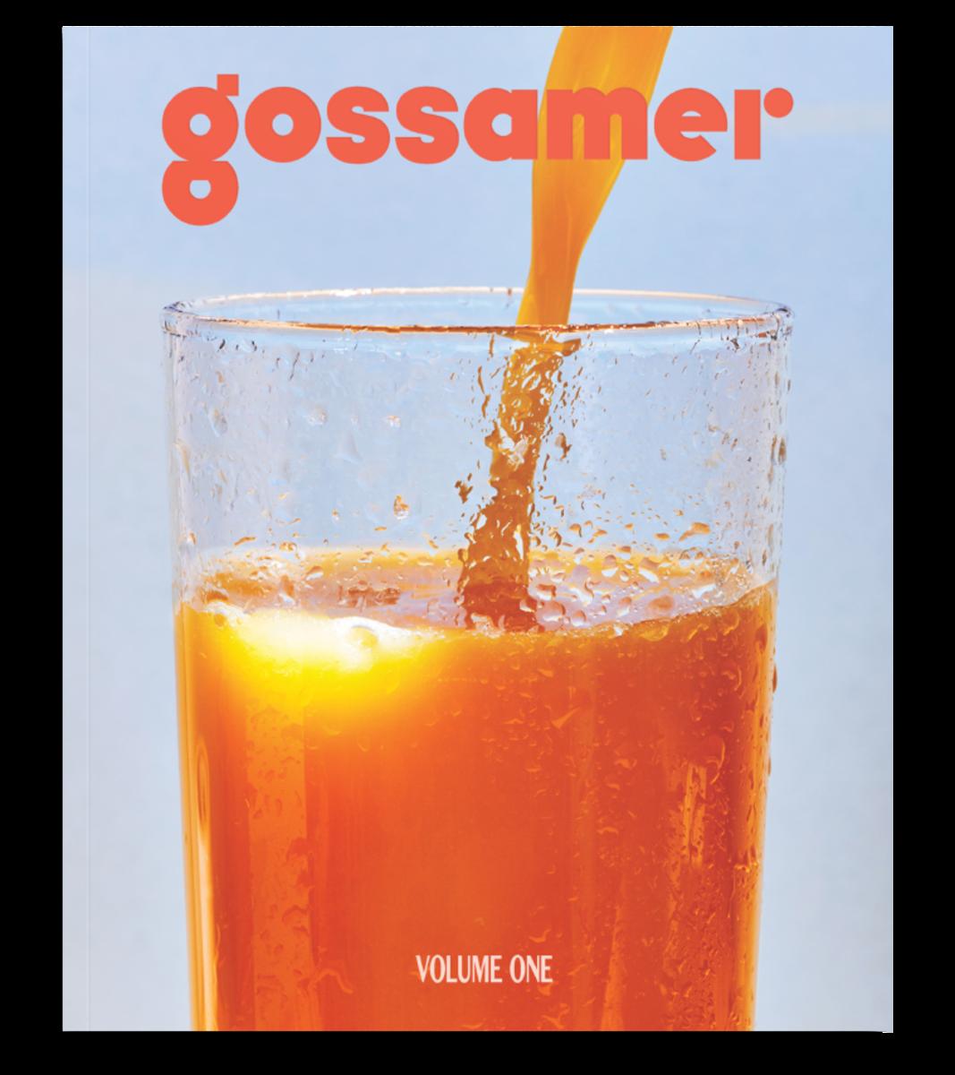 "The debut issue of ""Gossamer."" Photo: Pete Deevakul/Gossamer"