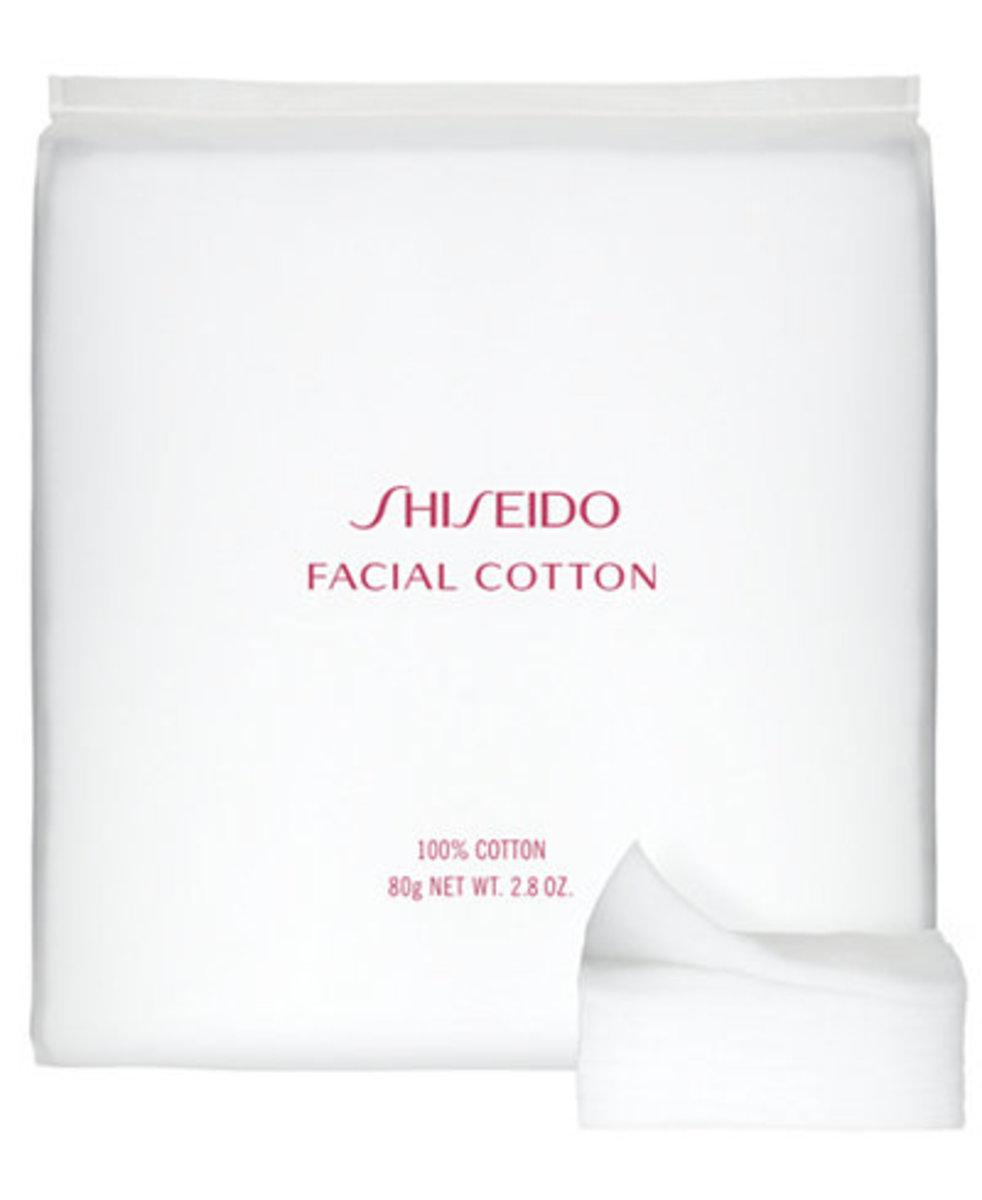 Shiseido Facial Cotton, $10, available here.