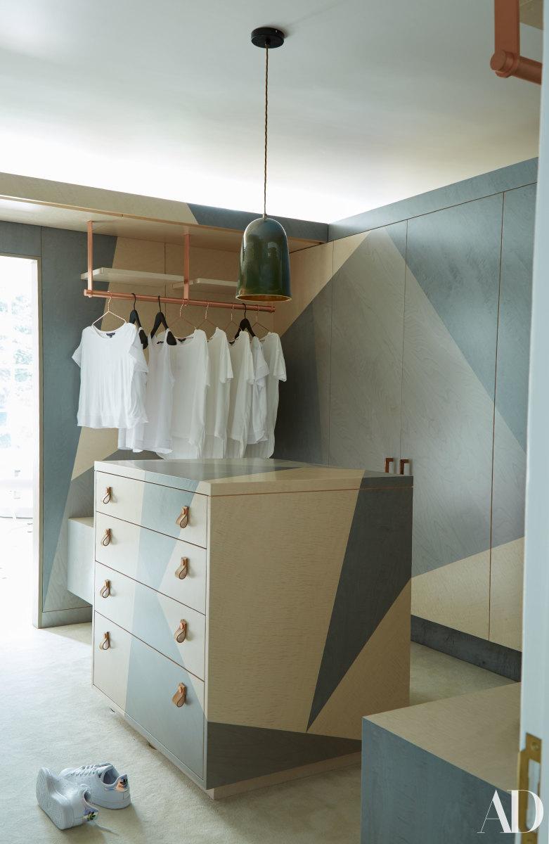 Cara Delevingne's closet.Photo: Skyler Smith/Architectural Digest