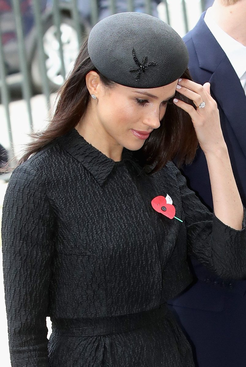Meghan Markle in London for Anzac Day. Photo: Chris Jackson/Getty Images