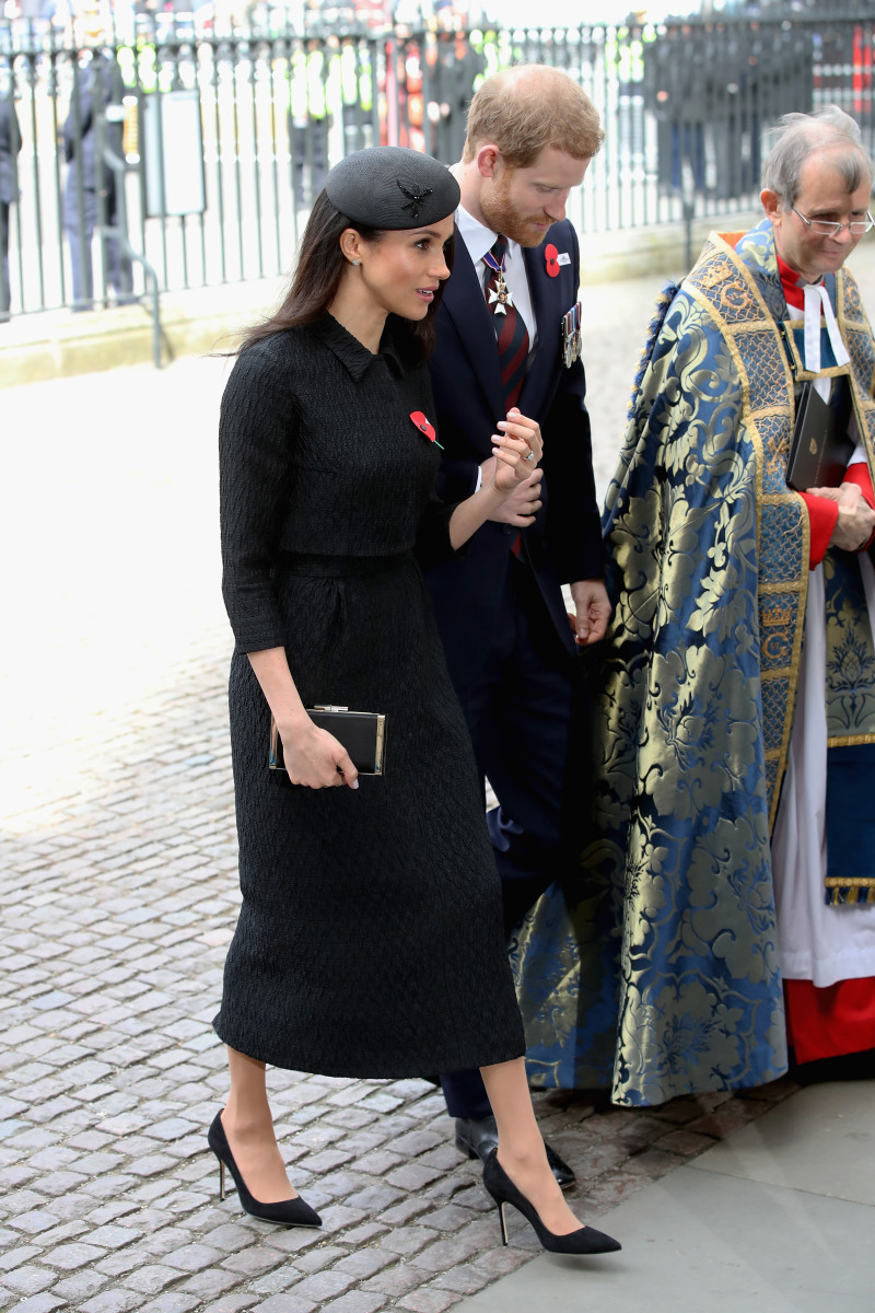 Prince Harry and Meghan Markle attend an Anzac Day Service of Commemoration  and Thanksgiving at Westminster 3f5b493ec22
