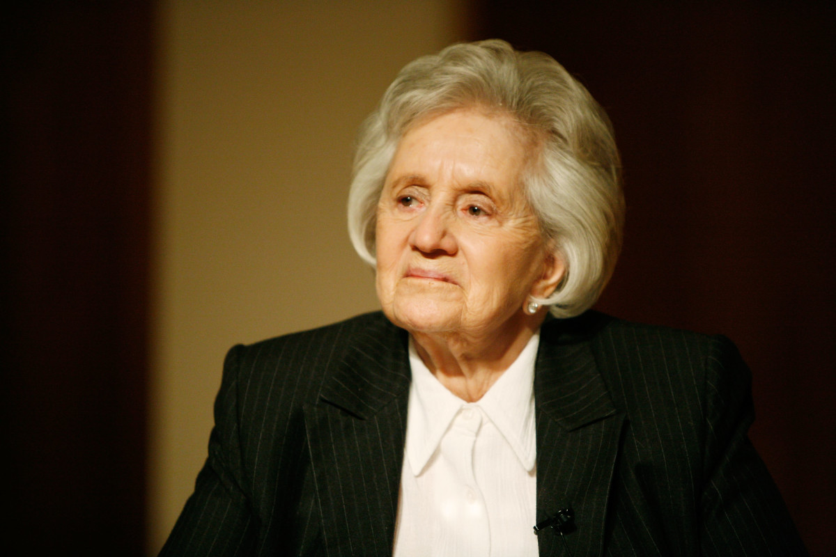 Judith Leiber in 2010. Photo: Amy Sussman/Getty Images