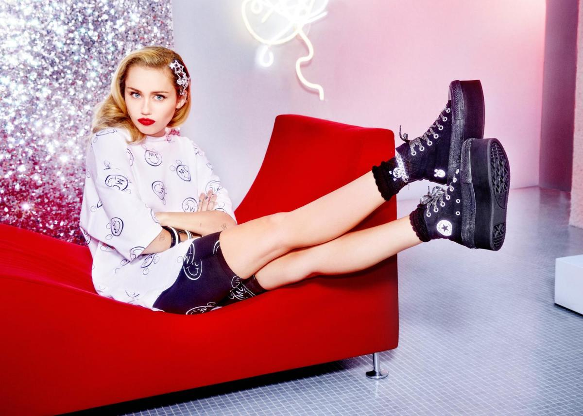 Miley Cyrus Converse Collection Collaboration Shoes - Fashionista aae7f4875
