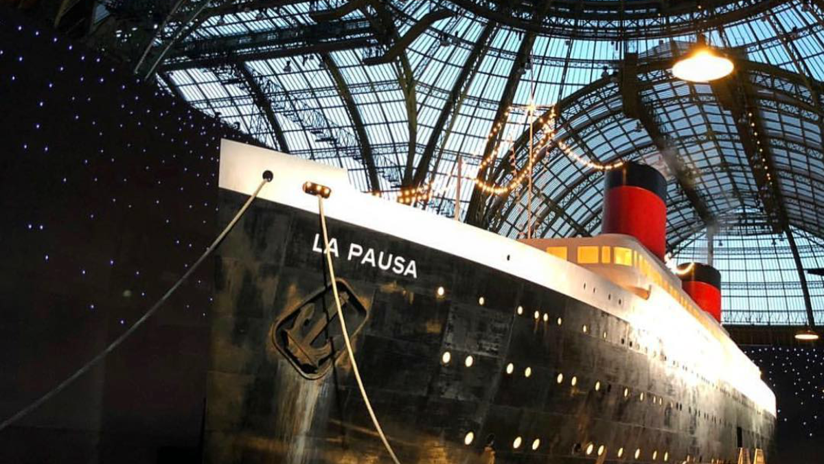 chanel set sail aboard a giant ship for its 2019 cruise
