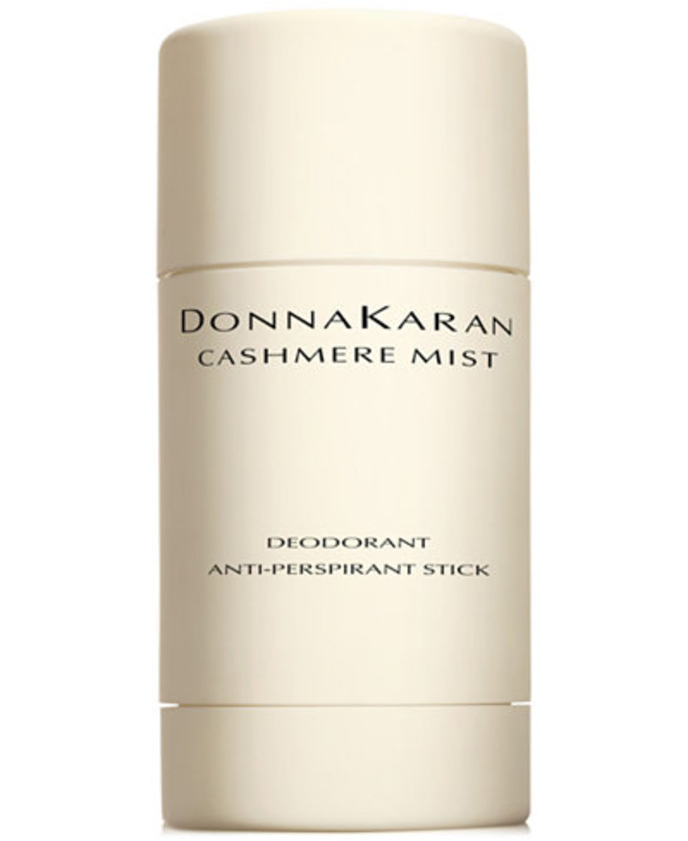 Donna Karan Cashmere Mist deodorant, $27, available here.