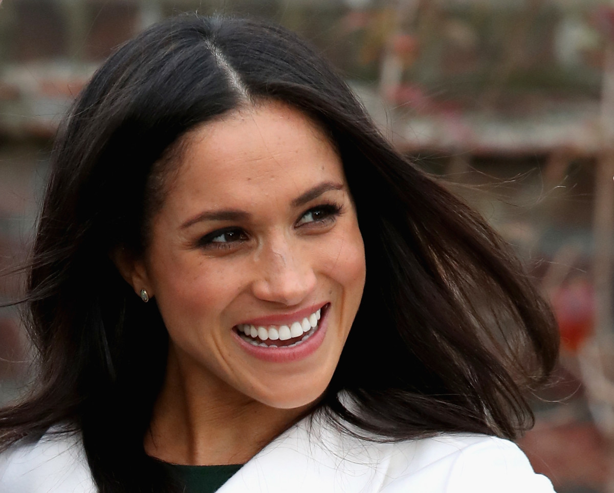 Meghan Markle during an official photocall to announce her engagement to Prince Harry. Photo: Chris Jackson/Getty Images