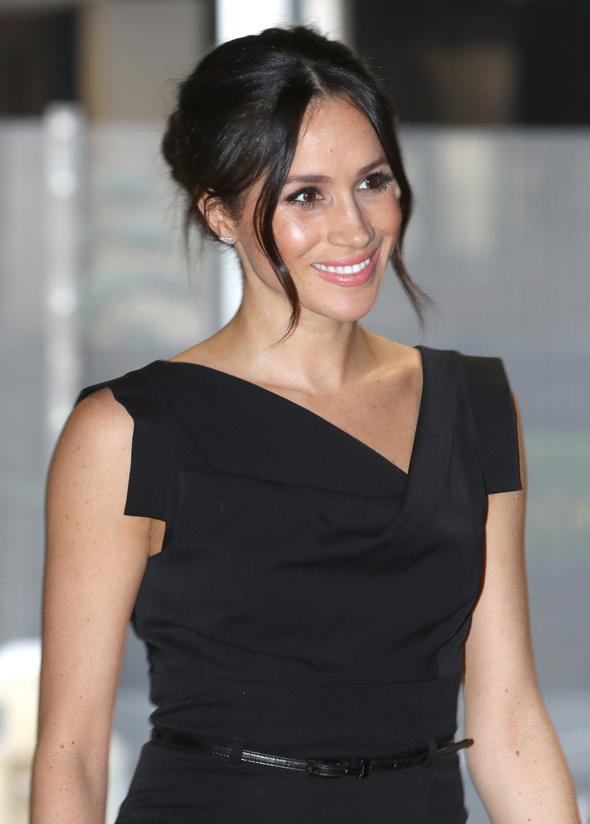 Meghan Markle at the Women's Empowerment reception hosted by Foreign Secretary Boris Johnson in London. Photo: Chris Jackson/WPA Pool/Getty Images