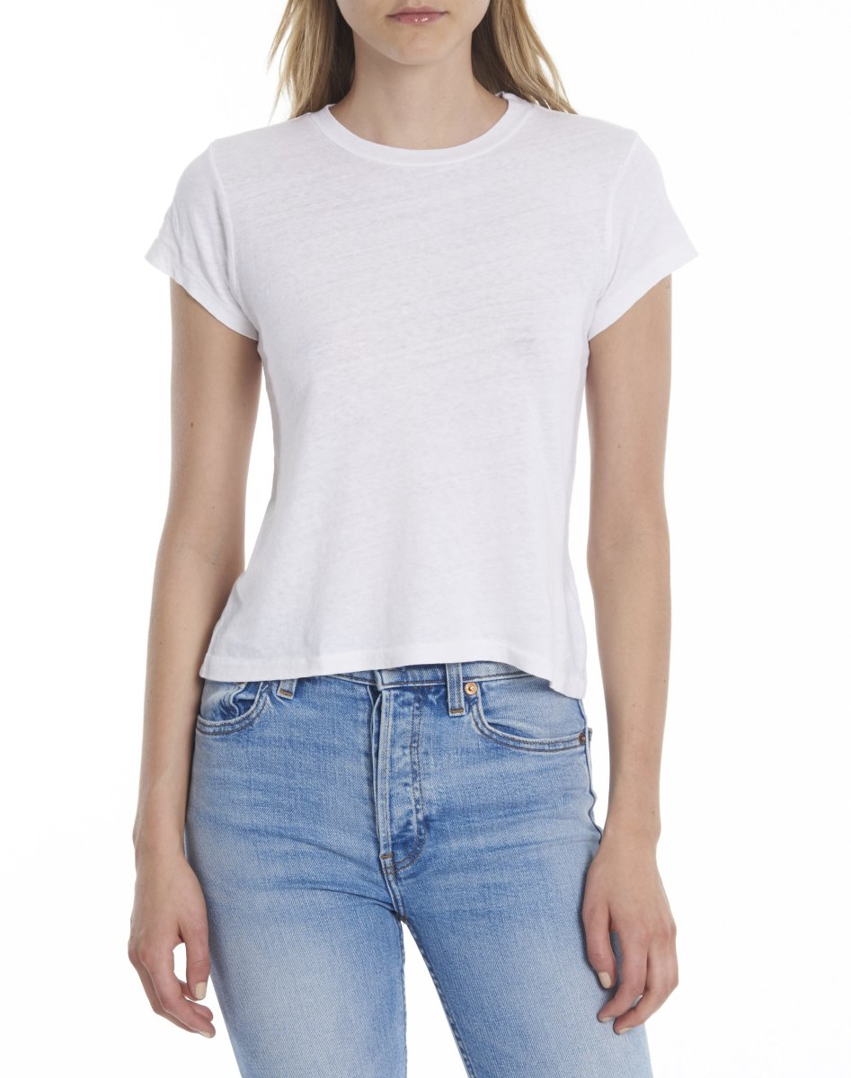 The 1960s Slim Tee, $78, available at Re/Done.