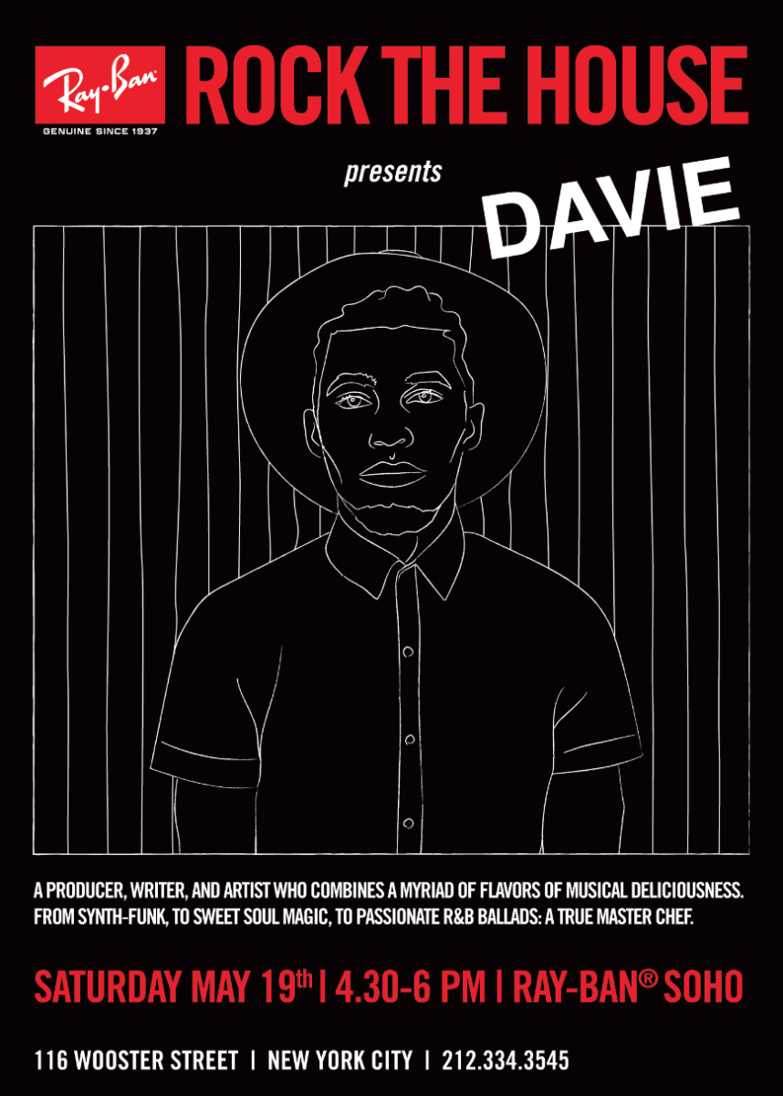 Ray-Ban Rock The House Presents Davie