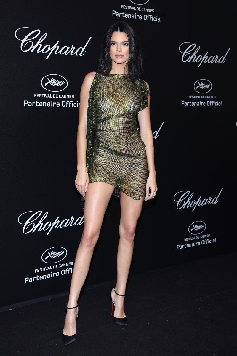 Kendall Jenner at Chopard Secret Night during the 71st annual Cannes Film Festival at Chateau de la Croix des Gardes. Photo: Pascal Le Segretain/Getty Images for Chopard